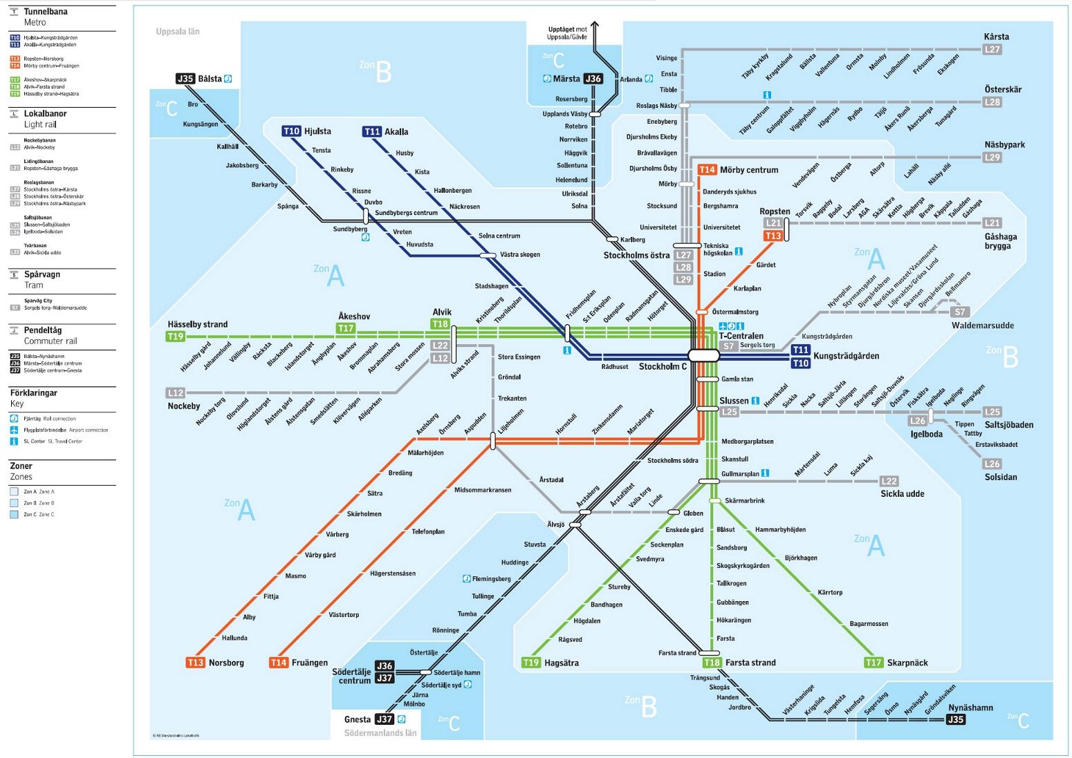Sl Tvarbanan Karta Karta